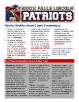 170314 Patriots Newsletter